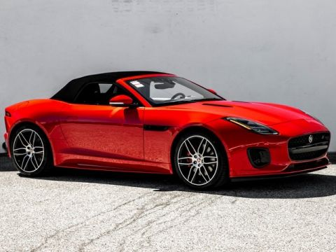 New 2020 Jaguar F-TYPE Convertible