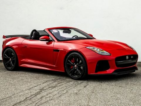 Pre-Owned 2017 Jaguar F-TYPE SVR Convertible